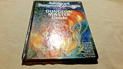 Dungeon Master's Guide 2nd edition Advanced Dungeons and Dragons