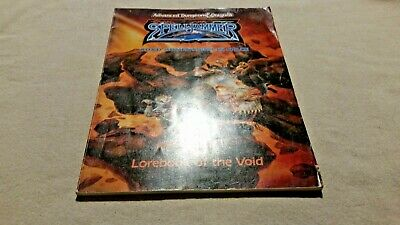 Spelljammer lorebook of the void Advanced Dungeons & dragons 2nd edition