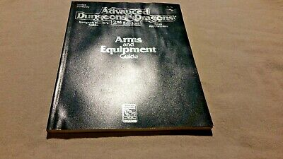 Arms & equipment Guide 2123 Advanced Dungeons & Dragons 2nd edition
