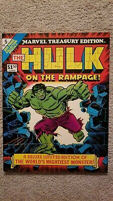 Marvel Treasury Edition #5 featuring The Incredible Hulk