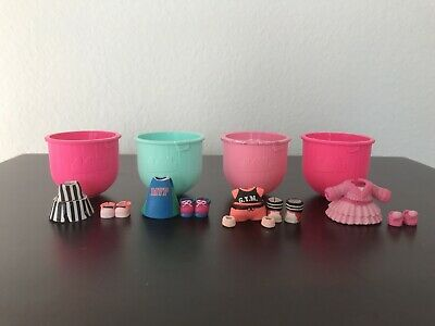 Lol Surprise Doll Fashion Crush 4 Outfit Lot New F-001 008 013 009
