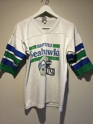 Original Seattle Seahawks Tshirt Made In USA Size M Vintage