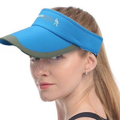 Summer Tennis Sports Adjustable Cap Sun Visor Golf Cap Headband Hat Beach Vizor
