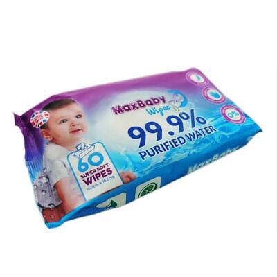 Trust Mama Baby Wipes 99.9% Purified Water Chemical Free For Sensitive Skin