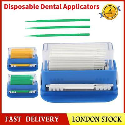 Dental Supplies Disposable Micro Applicator Tip Brush Dispenser Applicators Box