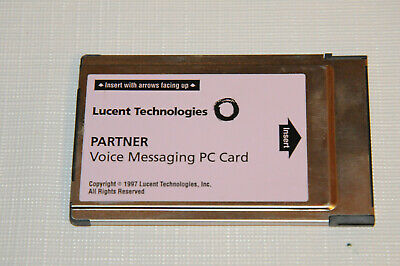 AVAYA LUCENT Partner ACS Voice Messaging PC Card / CWD2 R2.0 PVM Card