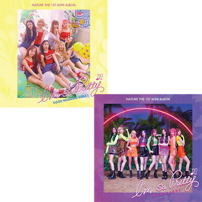 NATURE I'M SO PRETTY 1st Mini Album 2Ver SET 2CD+2PhotoBook+4Card+4Poster SEALED