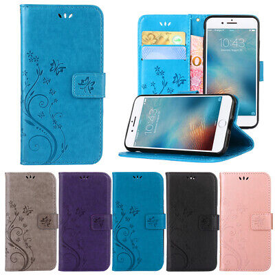 For iPhone XS Max XR 7 Plus 8 Case Magnetic Leather Flip Card Wallet Stand Cover