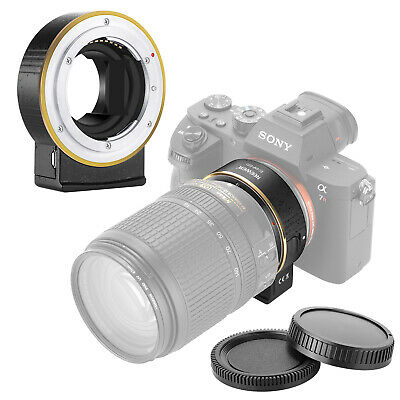 Electronic AF Lens Mount Adapter for Nikon f Lense to Sony E-mount Cameras