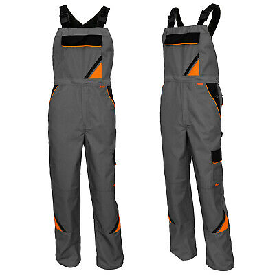 TRADE LINE // Mens Lightweight Elasticated Professional Work Overalls /Knee pads