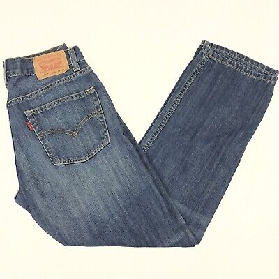 Levis 514 Jeans Boys Slim Straight Blue Denim 16 Reg. 28x28 Measures 26 x 28