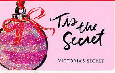 Victoria's Secret RARE Collectable [No-Value and possibly Empty] Gift Card.