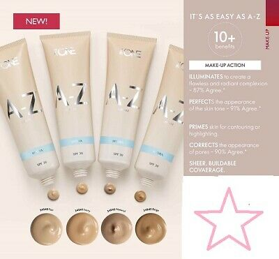 Oriflame The One A-Z Cream Hydra Spf30 - Make-Up & Skin Care In One - 4 Shades