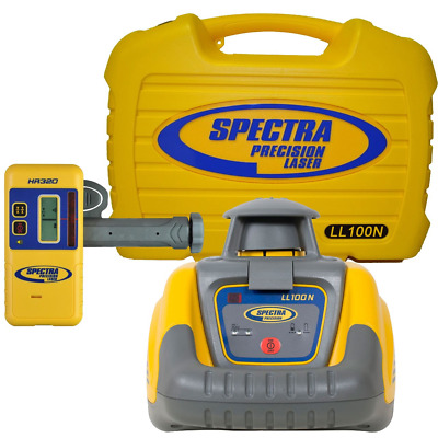 Spectra Precision LL100N, Yellow