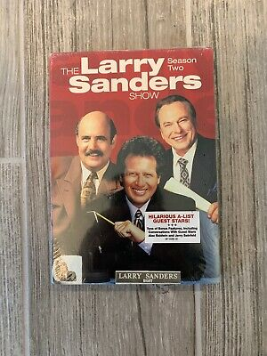 The Larry Sanders Show: Season Two (DVD, 2010, 3-Disc Set) Brand New And Sealed