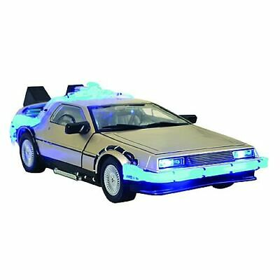 Back to the Future DeLorean Vehicle - Diamond Select Toys - New in Box - LIGHTS!