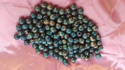 200 x Black Coloured Heishi Flat Round Spacer Beads Size 8x1mm.