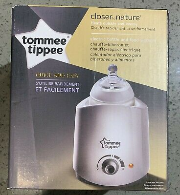 Tommee Tippee Closer to Nature Electric Baby Bottle and Food Warmer