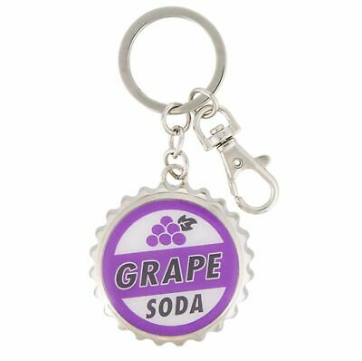 Disney Parks Pixar Up Grape Soda Bottle Cap and Opener Keychain New With Tags