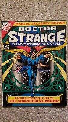 Marvel Treasury Edition #6 featuring Doctor Strange
