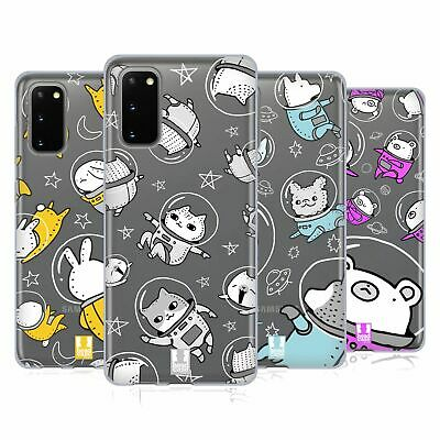 Head Case Designs Space Animals Gel Case For Samsung Phones 1