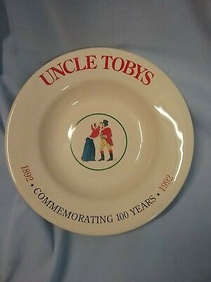 Uncle Tobys 100yr Commemorative Plate