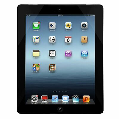 Apple iPad 4 4th Generation 16GB WiFi Unlocked Black Grade A Excellent Condition