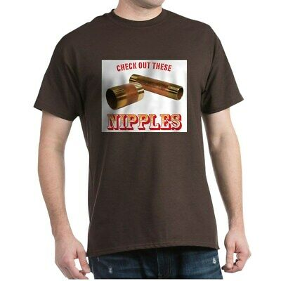 CafePress Nipples Dark T Shirt 100% Cotton T-Shirt (677401157)