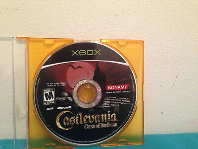 Castlevania curse of darkness XBOX disc only