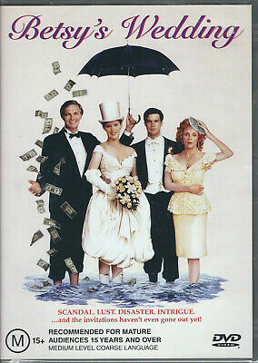 BETSY'S WEDDING DVD (1990)  R4/PAL *Molly Ringwald *BRAND NEW & SEALED