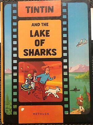Original from 1974 Tin Tin Hardcover Comic Book - Rare!