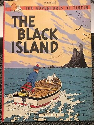 Original from 1977 TINTIN Paperback Comic Book - Great Condition!