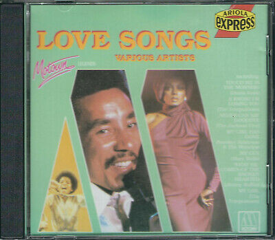 VARIOUS ARTISTS Motown Love Songs CD *BMG Australia