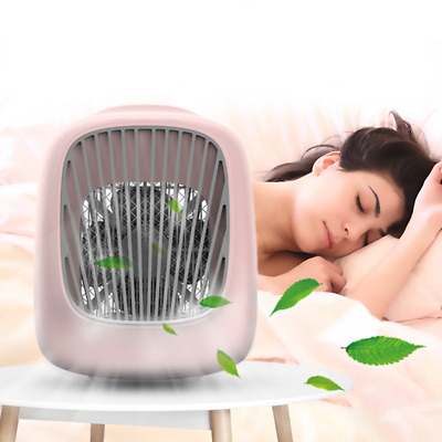 Portable USB Mini Cooler Fan Air Conditioner for Personal Desktop Office Use
