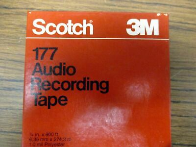 Reel-To-Reel Store: 10 Reels SCOTCH 177 blank tape.        ALL TEN FOR ONLY $50