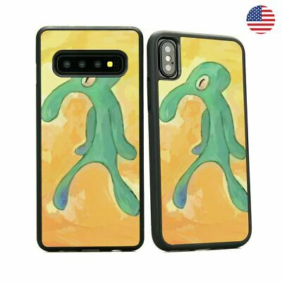 Squidward Old Bold And Brash iPhone X Samsung S10 Pixel Case