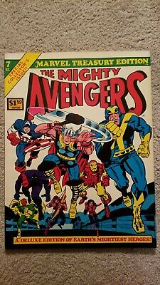 Marvel Treasury Edition # 7 featuring The Mighty Avengers