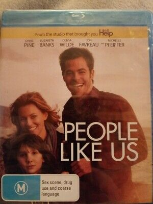 People Like Us (Blu-ray) NEW AND SEALED REGION FREE