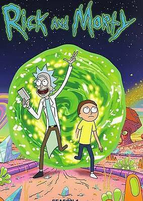 Rick and Morty: The Complete First Season (DVD, 2014) **2 Discs Only**