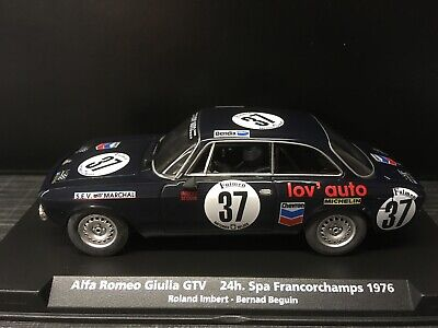 88150 Fly Car Model / Alfa Romeo Giulia GTV / SPA Francorchamps 1976 / NEU&OVP