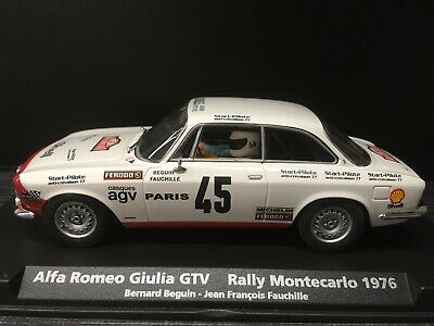 88133 Fly Car Model / Alfa Romeo Giulia GTV / Rally Montecarlo 1976 / NEU & OVP