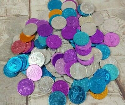 LOT OF 125 MARDI GRAS DOUBLOONS 1960s 70s 80s 90s NEW ORLEANS COINS Different
