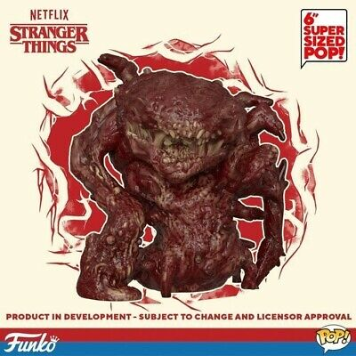 Funko Pop! TV Stranger Things Season 3 Tom/Bruce Monster 6 Inch Presell