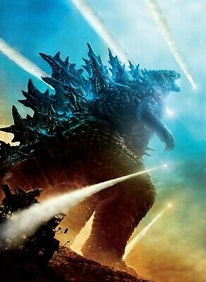 """Godzilla King of the Monsters (2019) Movie Fabric Silk Poster 27""""x40"""""""
