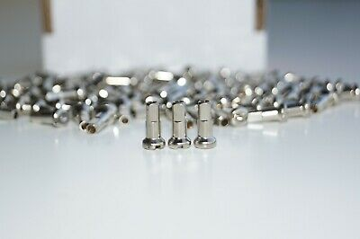 DT Swiss Brass Silver Nipples 2.0 x 12mm Pack of 48 & 72 & 100