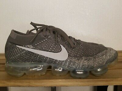 Nike Air Vapormax Flyknit Asphalt Dark Grey Black Mens Size 12 Rare 849558-002