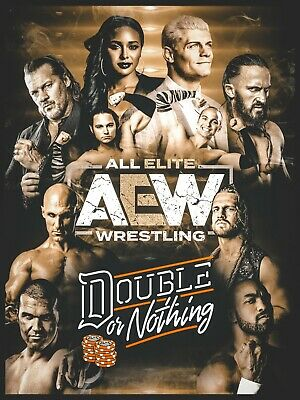 AEW Double Or Nothing Poster! LAST ONE!!!