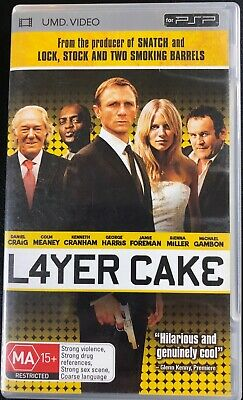 Layer Cake UMD Video for PSP in Good Condition L4YER CAKE