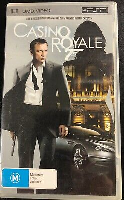 Casino Royale 007 James Bond UMD Video for PSP in Good Condition