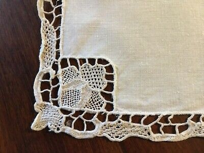 Antique Cream linen serviettes 6